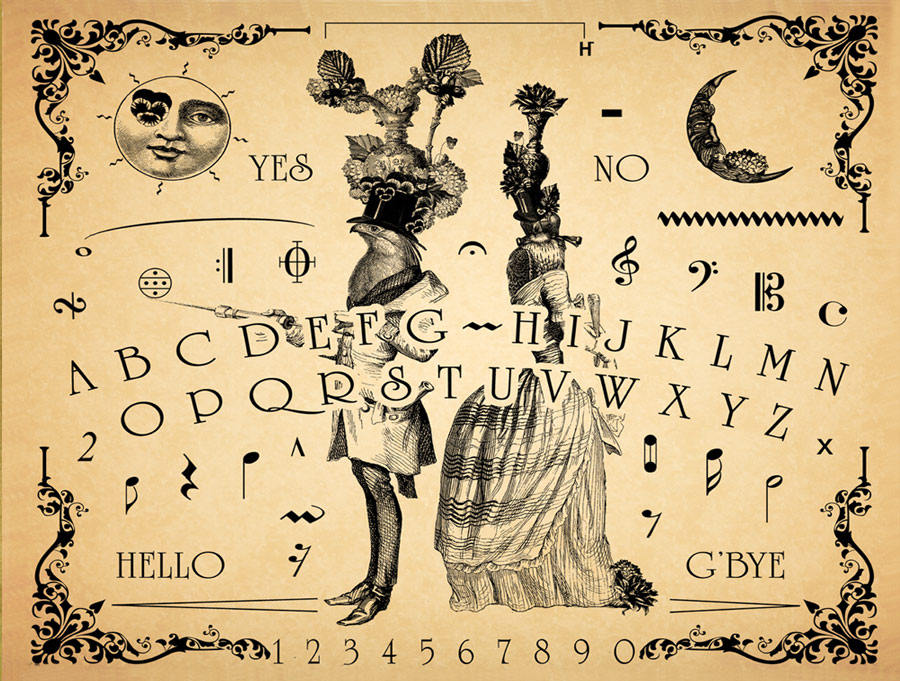 The Parlour Trick Musical Talking Board by Bethalynne Bajema