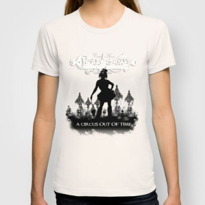 Cirque Acirca - A Circus out of Time Tee Shirt Design