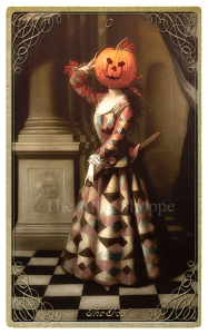 00 The Attic Shoppe Trading Company's Halloween Tarot